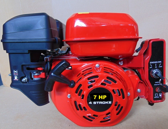 Motor HG 210 SE, 7.0 HP, El. start,  hříd. 20,0 mm
